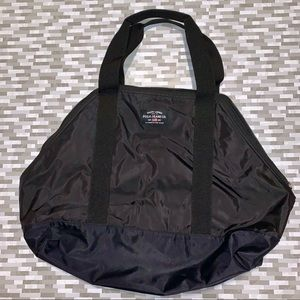 [Ralph Lauren Polo Jeans] Black Nylon Tote Bag